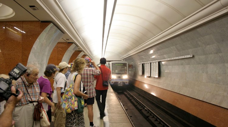 Taking a trip on Moscow's subway system