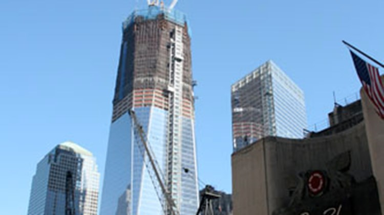Another view of 1 World Trade Center.