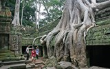 Angkor Thom, an ancient temple at Angkor Wat
