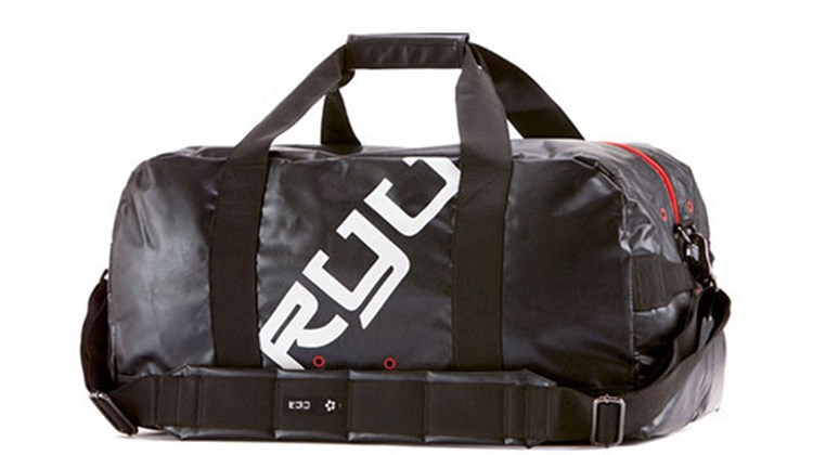 There is nothing fancy or cutting-edge about this duffel, which is a real carry-on in that it is meant to be literally carried on and not rolled. The RYU (Respect Your Universe) duffel measures 22x11x11 inches and can easily double as a gym or overnight bag. It offers an adjustable and removable shoulder strap, a separate wet pocket, an interior organizer/security pocket and a zippered closure. This minimalist travel accessory is sporty and practical, just the thing if you want to travel fast and light.