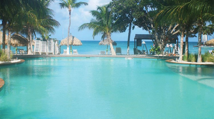 The pools at the Holiday Inn Resort Aruba are a great place to relax after a day of exploration...