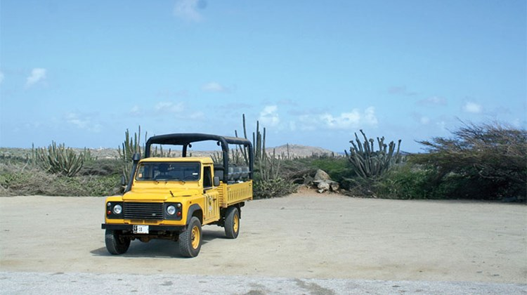 The desert is best explored by jeep! I went off-roading with De Palms Tours, bumping and bouncing over the island's dusty hills in a more erratic style than an old rollercoaster