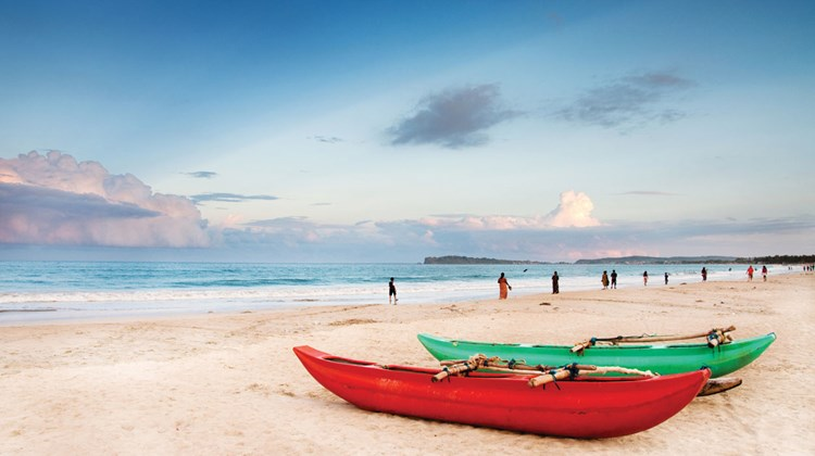 Long stretches of empty beach have long been one of Sri Lanka's principle draws