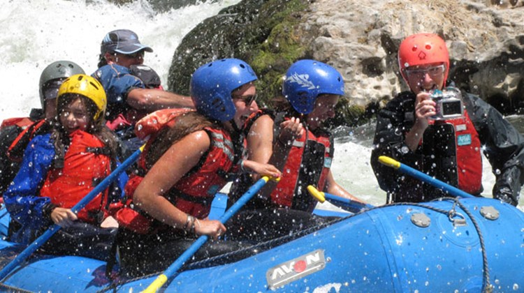 Rafting: The wild waters of the Urubamba mark the beginning of the Amazon