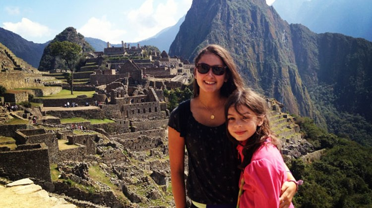 Our Machu Picchu: Gavriela and Eliana