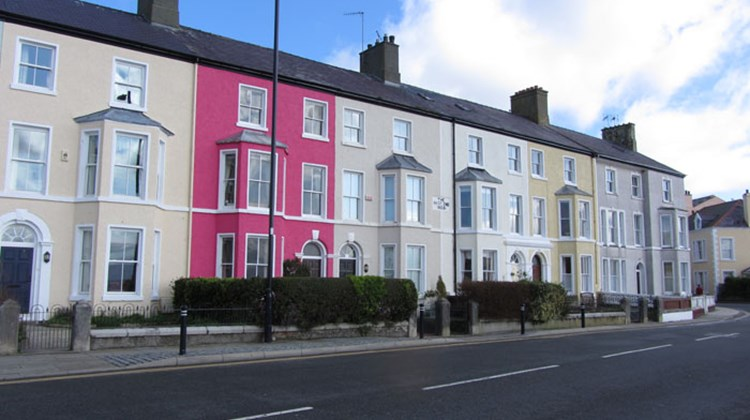 Our base of operations: the colorful village of Beaumaris, sitting on the banks of the Menai Strait.