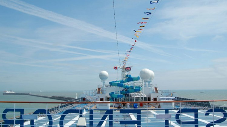 The Carnival Splendor during its inaugural season is embarking Northern Europe cruises from Dover, England.