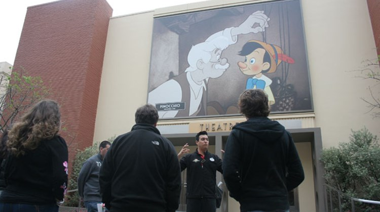 A screening theatre at Walt Disney Studios.