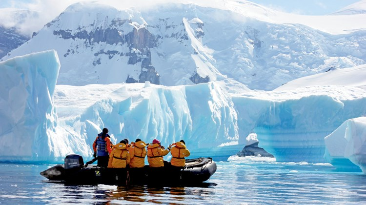 Shore excursions are made twice a day via 12-passenger Zodiacs. Photo by Lisa Maclean