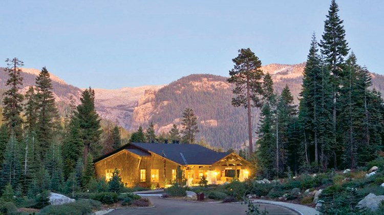 The Wuksachi Lodge in Sequoia National Park, where Globus invites its guests to do some stargazing.