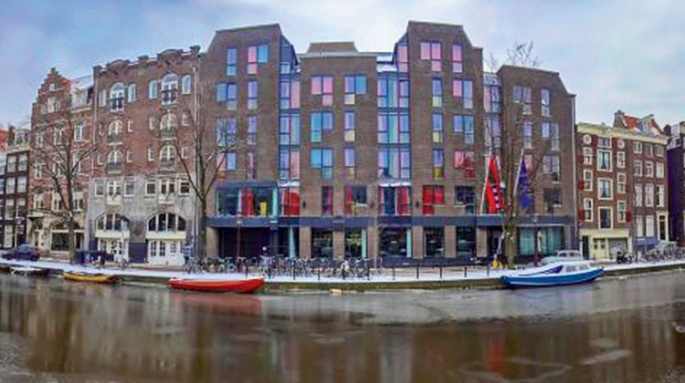 The Andaz Amsterdam Prinsengracht was rebuilt out of what had formerly been the Public Library of Amsterdam.