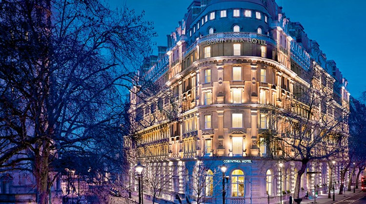 The Corinthia Hotel London, once home to Ministry of Defense offices.