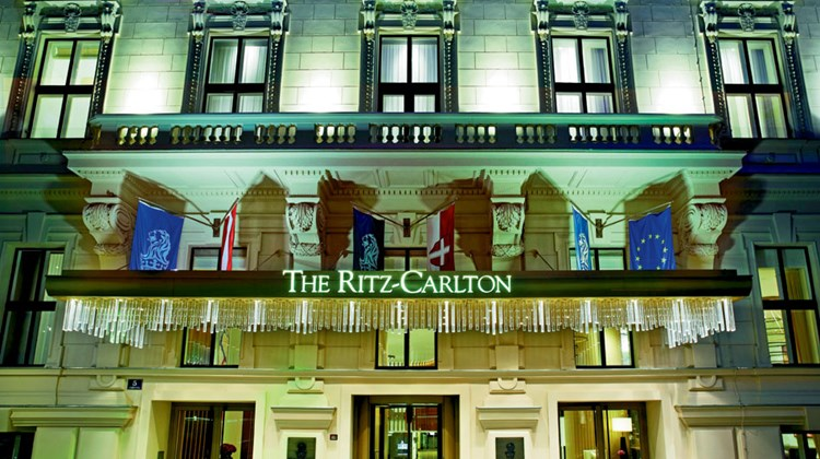 The Ritz-Carlton Vienna was formerly four conjoined 19th century palaces.