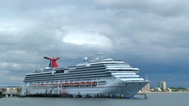 After three-and-a-half months out of service, 47,000 displaced guests and a $65 million in repairs and lost revenue, the Carnival Splendor returned to Long Beach in January to resume its seven night Mexico cruises. Photo by Peter Knego/www.maritimematters.com
