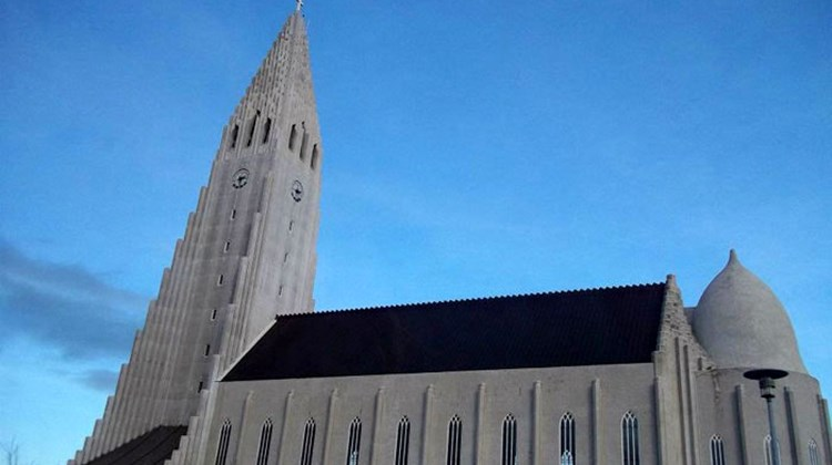 The 244-foot steeple of the Hallgrimskirkja church still towers over downtown Reykjavik, although it's no longer the tallest structure in town.