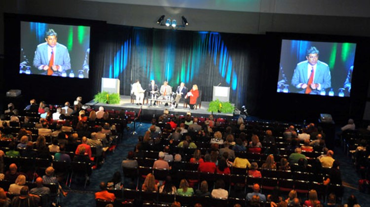 The opening keynote event of the CruiseWorld 2010 and Home Based Travel Agent Conference in Fort Lauderdale: Cruise Chiefs Take Agent Questions.