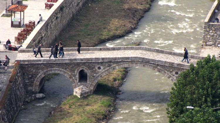 Prizren, in southern Kosovo, is famed for its Ottoman heritage, including this stone bridge.
