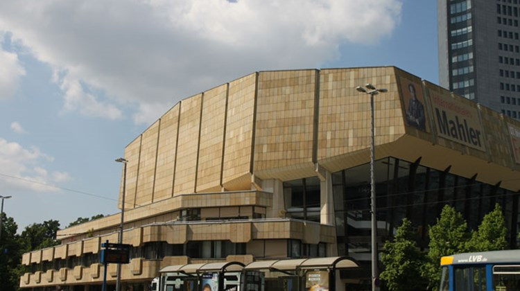 The Gewandhaus, the modern concert hall that embodies Leipzig's ongoing tradition as a city of music.