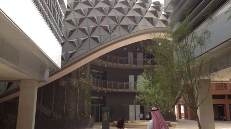 Designers experiment with a number of architectural styles in Masdar City. What they have in common is energy efficiency.