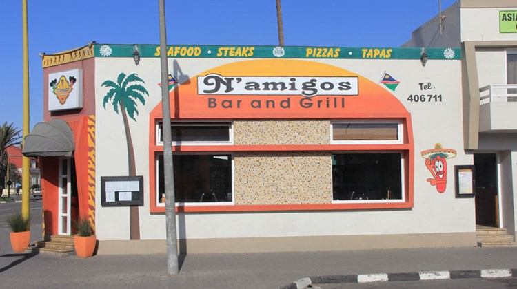"What would you call a Mexican restaurant in Swapokomund, Namibia? ""N'amigos,"" of course."