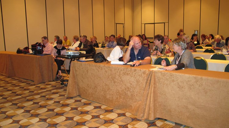 Nexion agents attended many seminars, including this one on selling air.