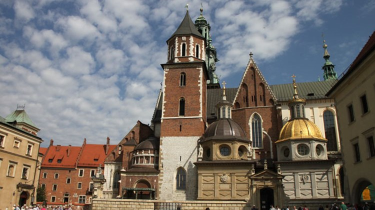 Wawel Cathedral, or formally, the Archcathedral of St. Stanislaus and St. Wenceslas, coronation and burial site for most of Poland's kings.