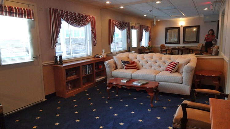The ship also features two mini-lounges, on Decks 2 and 4, which the company says are very popular on other American Cruise Lines ships, especially with groups that use them for card games or other gatherings. The vessel also has a small library.