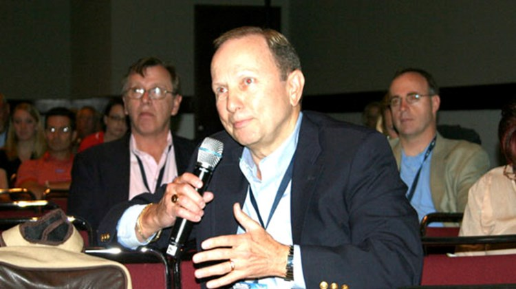 "Randall Johnson, Randall's Travel, Sarasota, Fla., claims ""home-based"" has negative connotations among consumers."