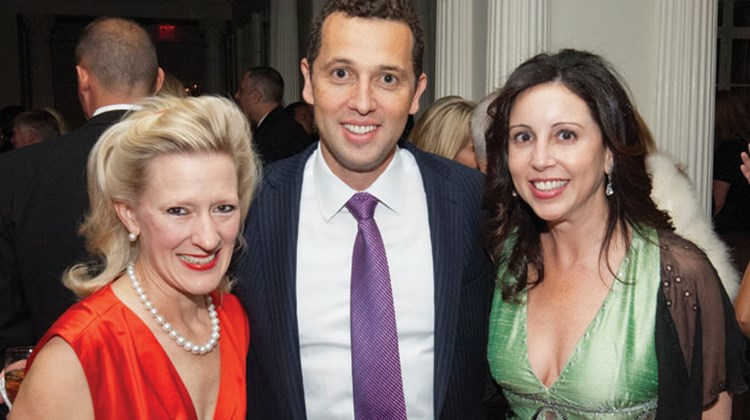 Mollie Fitzgerald, co-owner, Frontiers Elegant Journeys; Bryan Leibman, president of Frosch Travel; and Lara Leibman.