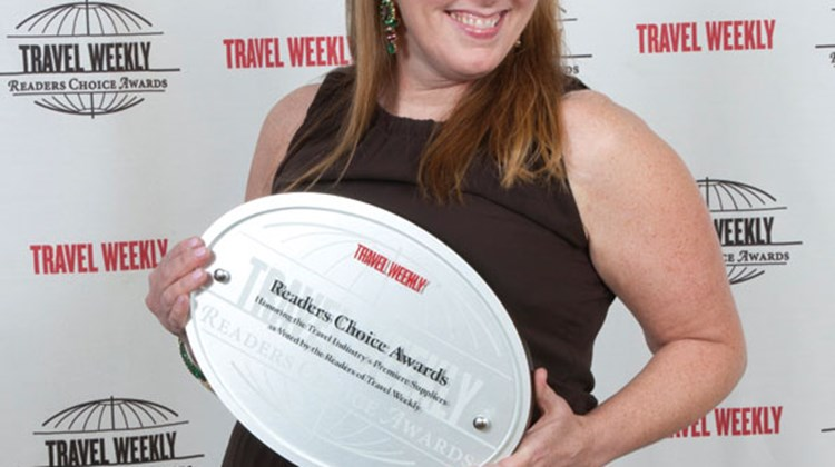 Dayna Miller of Tourism Vancouver accepted the Destination: Canada award.