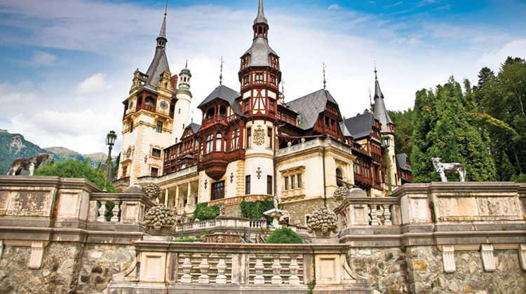 Best known over the centuries for its legendary despots, Romania has emerged from two decades of upheaval following the collapse of its communist regime to become a viable international tourist destination. Pictured here, Peles Castle in the foothills of the Carpathian Mountains was a former royal residence and is now a museum open to the public. Photo by Aleksandar Todorovic/Shutterstock