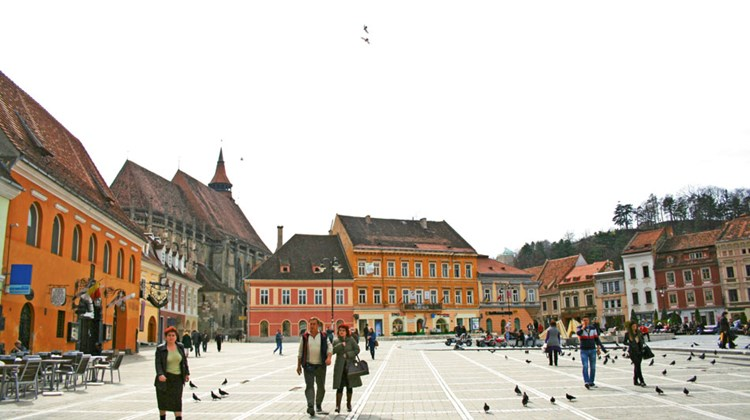 The Saxon city of Brasov. TW photo by Michelle Baran