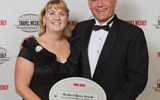 Julie Zadeh and Jay Talwar of the Hawaii Visitors & Convention Bureau took home two destinations awards.