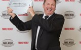 Chris Austin of Starwood Hotels & Resorts Worldwide accepted the award for Hotel Chain: Hawaii/South Pacific.