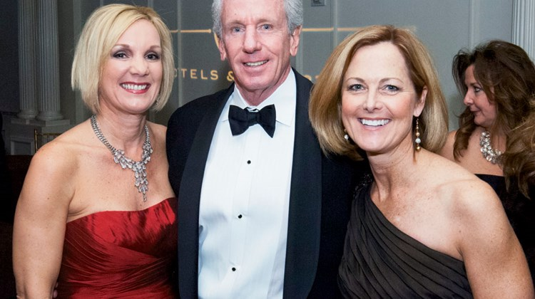 Marriott's Cynthia Perry, Dave Townshend and Marian McLain.