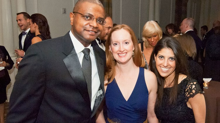 American Express' Curtis Wilson, Jen Costello and Michelle Tolkin.