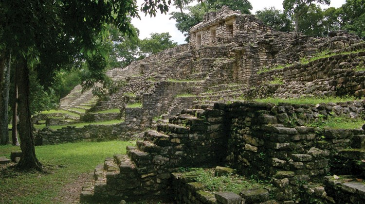 Yaxchilan, an ancient Mayan city in Chiapas.