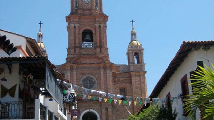 The Cathedral of Our Lady of Guadeloupe in Puerto Vallarta.