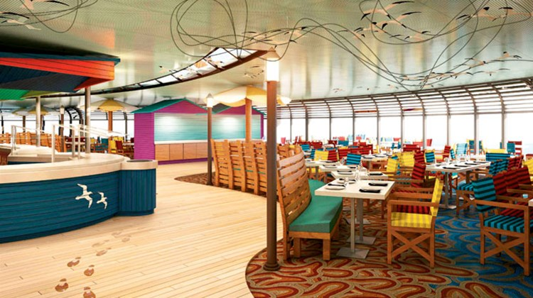 The Topsider buffet restaurant will be converted into the Australian-themed Cabanas onboard the Disney Magic.
