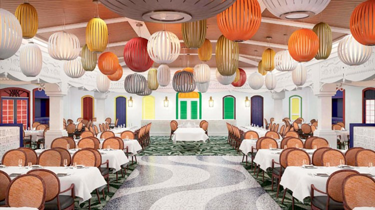 The Parrot Cay restaurant will be replaced by the Rio de Janeiro-inspired Carioca's, featuring a festival theme during the day and a vibrant after-hours scene at night.