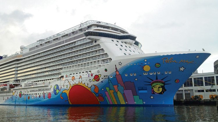 As illustrated by the Norwegian Breakaway, ship launches give cruise lines the opportunity to wow the public with glitz and glamour and to strengthen agent relationships by showing off their latest innovations. Pictured here, the Norwegian Breakaway, which was christened last month in New York. Posted June 5, 2013.