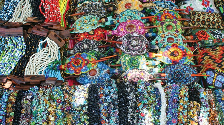 Jewelry for sale on Isla Mujeres.