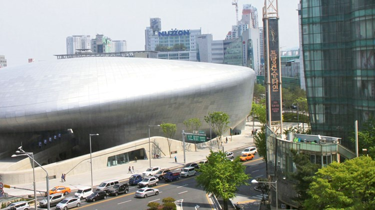 Seoul's still more futuristic Dongdaemun Design Plaza, which debuted in March. Meant to foster and showcase creative Korean and international products, the DDP is expected to help make Seoul a go-to design center.