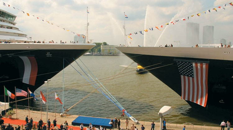Holland America Line's Rotterdam played a role in the naming of the Oosterdam in the former's namesake city.