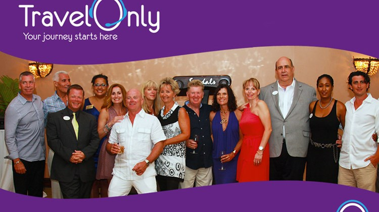 Brantford, Ontario-based agency TravelOnly unveiled its Agent Rewards Program at its Top Agent Retreat at the Sandals Montego Bay Resort in Jamaica. Top agents and their guests celebrated a record-breaking year in sales with company CEO Patrick Luciani, second from left, and President Gregory Luciani, far right. From left to right: Joe Kemp, Patrick Luciani, Jacques Clarijs, Michelle Lanoue, Barbara Rizzo, Stewart Purvis, Mary DeAlmeida, Tammy Kemp, Pat Probert, Luana Johnsgaard, Anie Chevrier, Brian Roper, Suelin Simpson and Gregory Luciani.