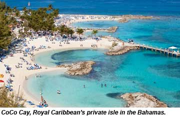 Carnival Ships To Call At Private Island Of Royal