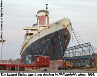 United States docked in Philly