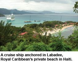 Haiti-ship in labadee