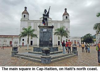 HAITI-Cap Haitien square