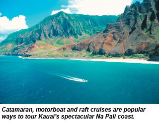 Navigating Na Pali Coastline Is Best Explored From Offshore